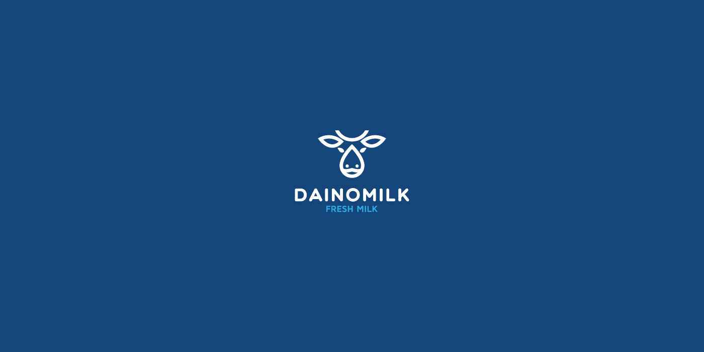 cow and milk logo design   logo for sale