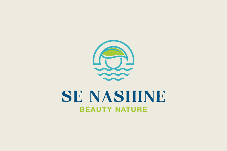 Se Nashine Beauty nature logo for sale