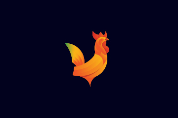 rooster chicken logo design - For Sale - Dainogo