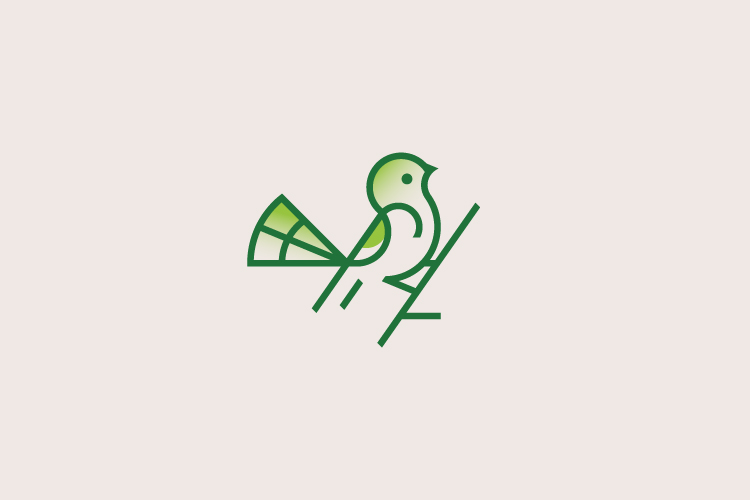 Bird logo design by Dainogo