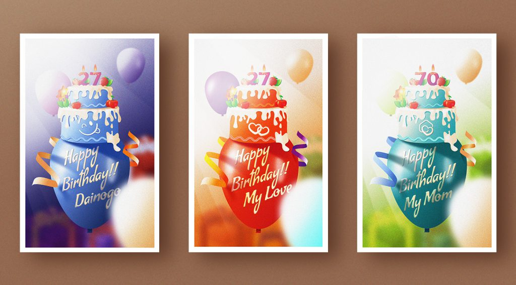 Happy birthday free greeting cards