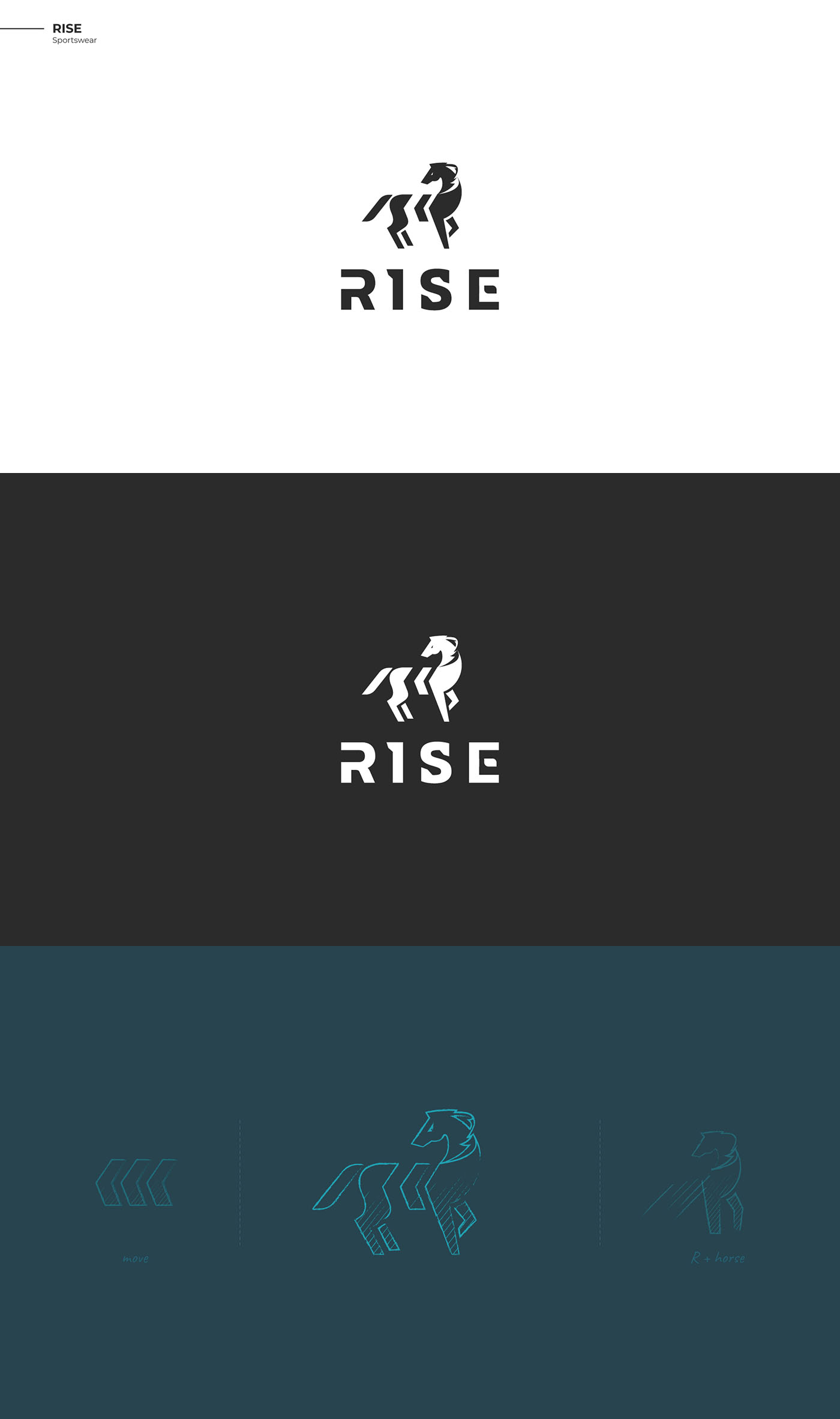 Fashion logo - Rise Horse logo & marks