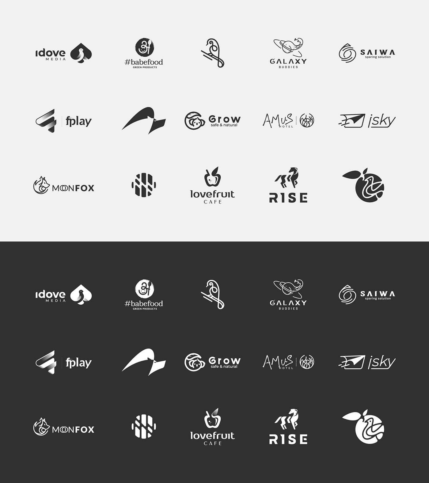 Logo inspiration - logofolio 2020