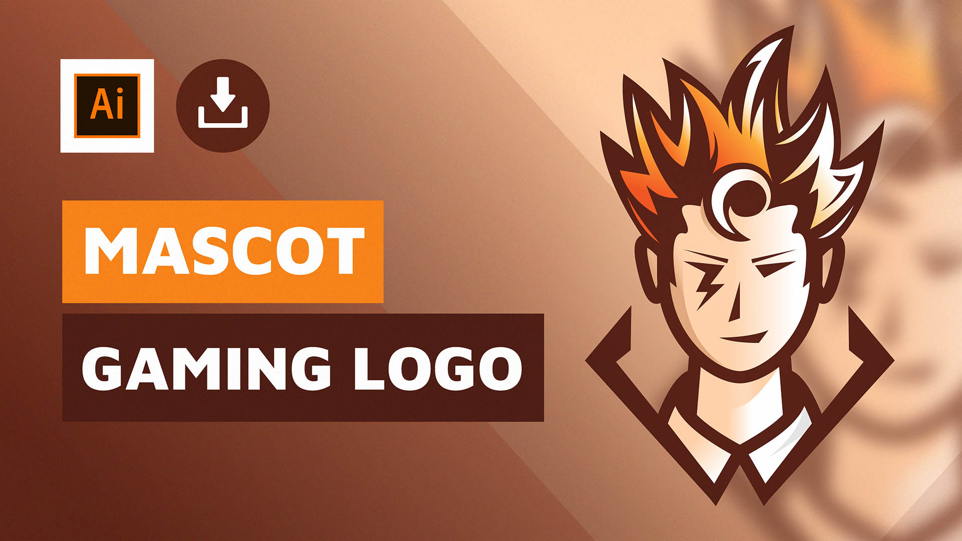 How to make a gaming logo - Mascot gaming logo by DAINOGO