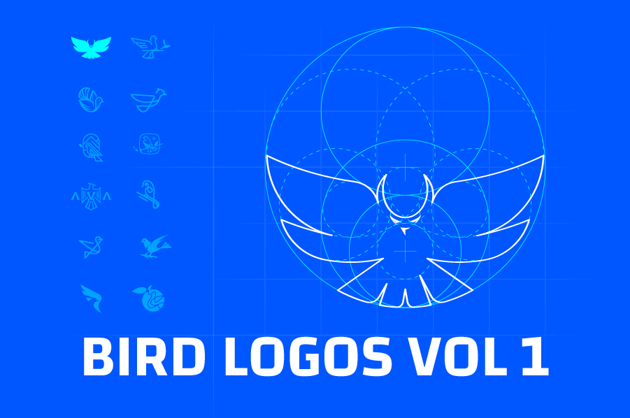 Bird-Logos-Collection Vol-01-Bird-Logo-Design-by-DAINOGO-01