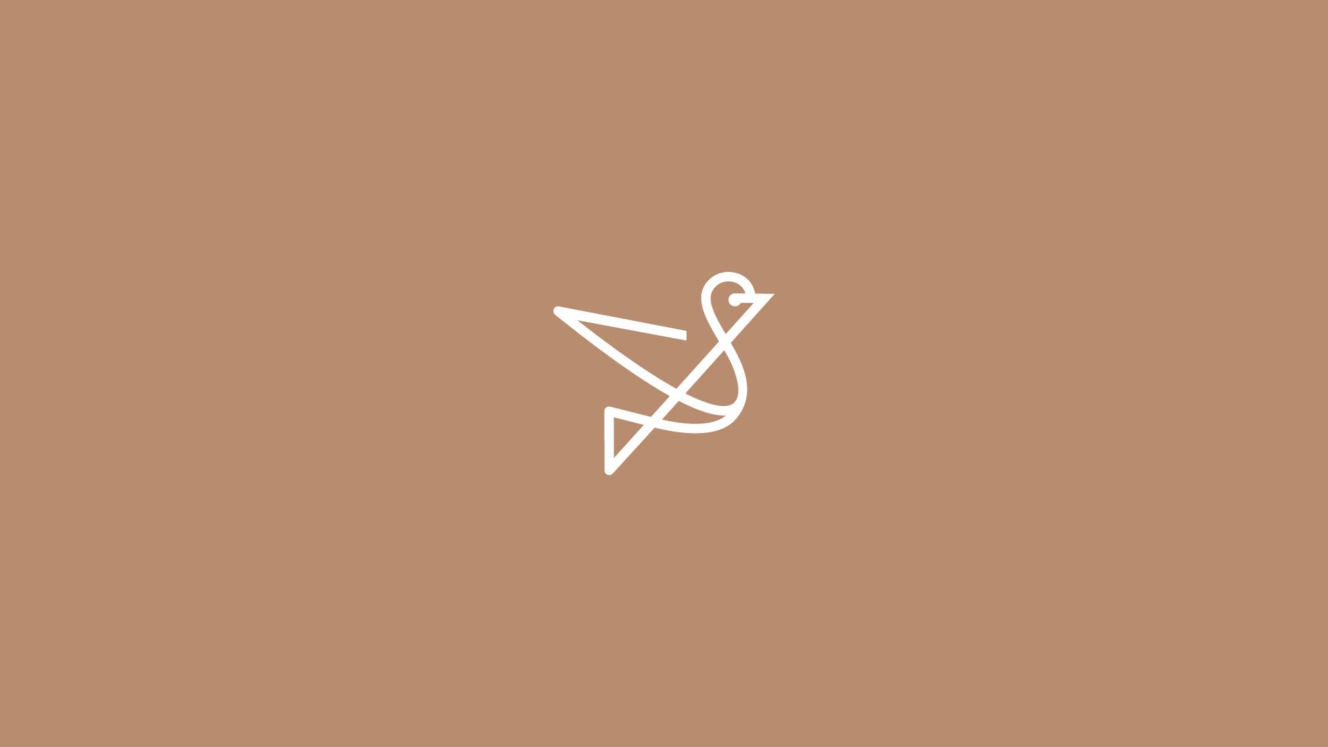 Beautiful bird logo design by DAINOGO